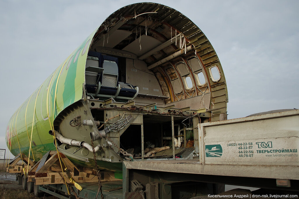 Как правильно перевозить Ту-154