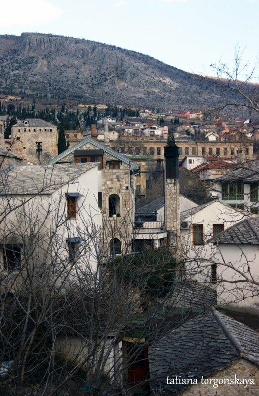 Вид на исторический квартал