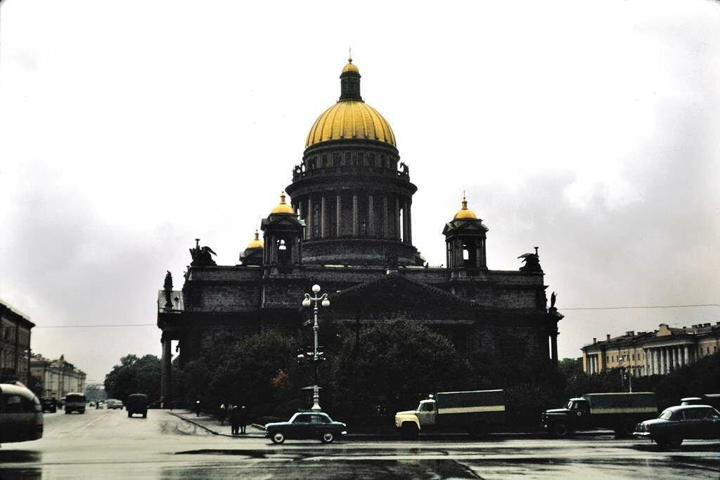 St. Isaacs Cathedral, Leningrad.  9/26/68