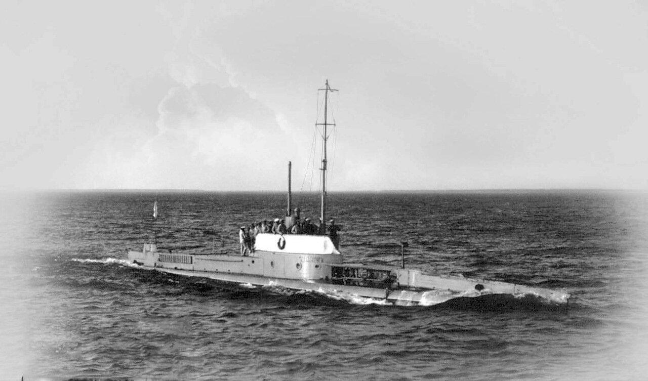 18. Подводная лодка «Аллигатор»