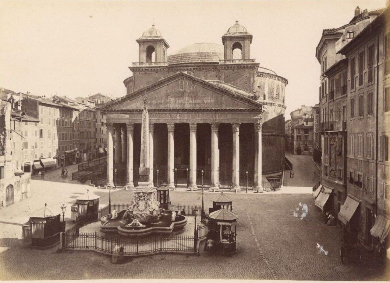 Пантеон Агриппы. 1870.