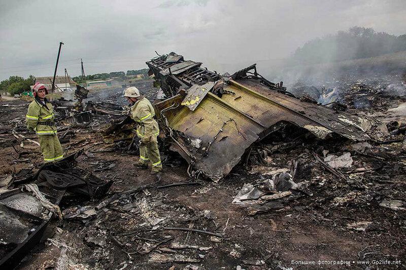 Boeing 777 сбила украинская армия