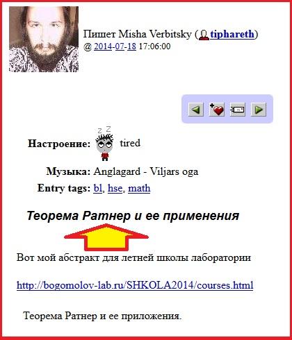 Ратнер, Вербицкий, Деев, Вики, Математики, Наука