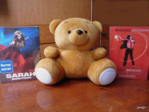 Texet TPA-3005 Winnie Bear (размеры)