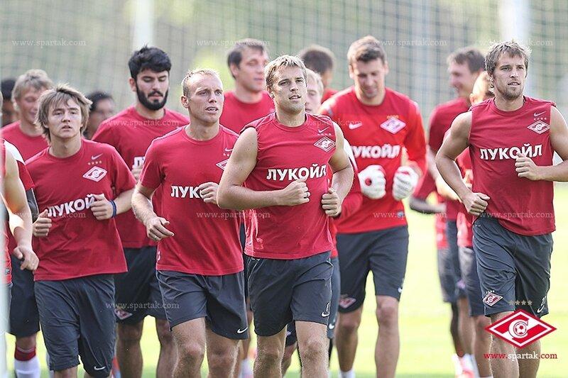 «Спартак» готовится к матчу с «Краснодаром» (Фото)
