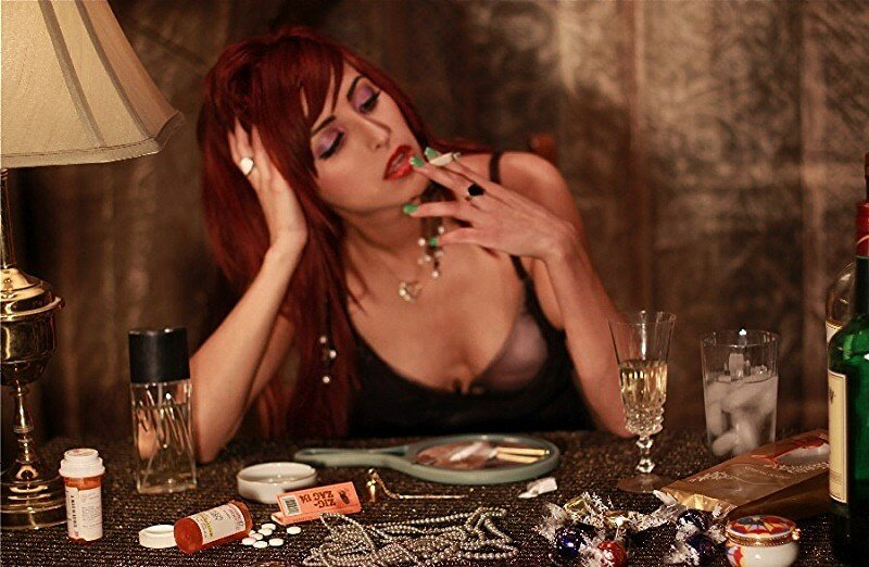 Дама с сигаретой