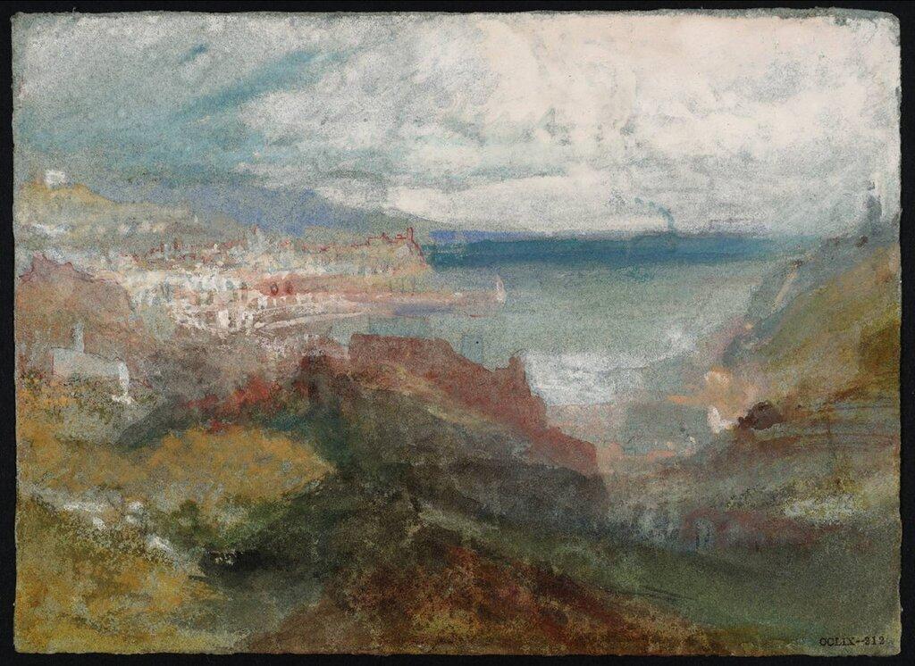 Genoa circa 1830 by Joseph Mallord William Turner 1775-1851