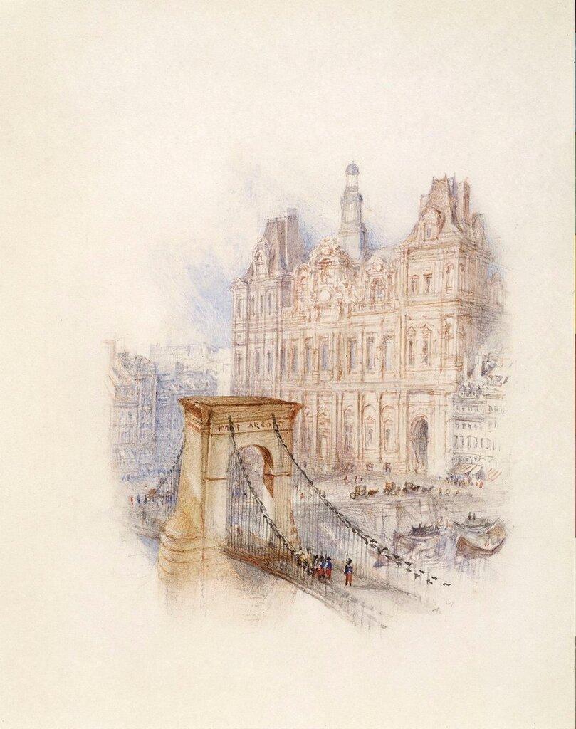 Paris - Hotel de Ville, 1833.jpg