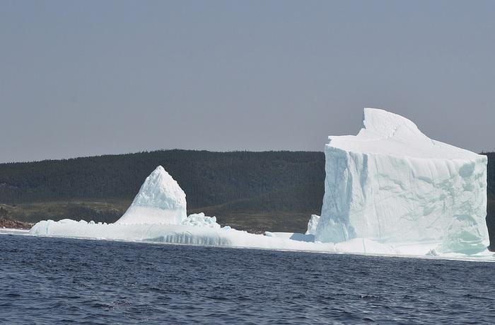 Разрушительная сила айсбергов