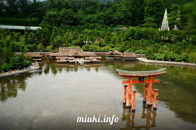 Япония, Тематический парк Tobu World Square (видео)