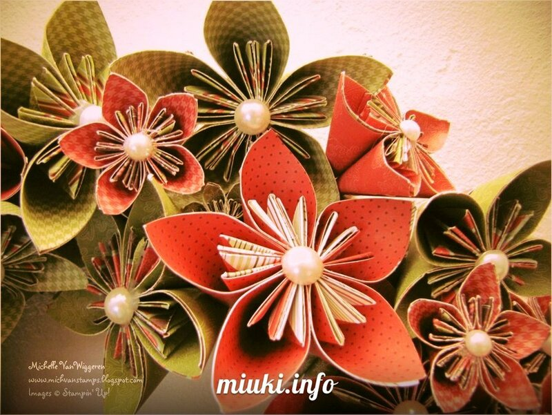 Кусудама Цветок для украшения комнаты