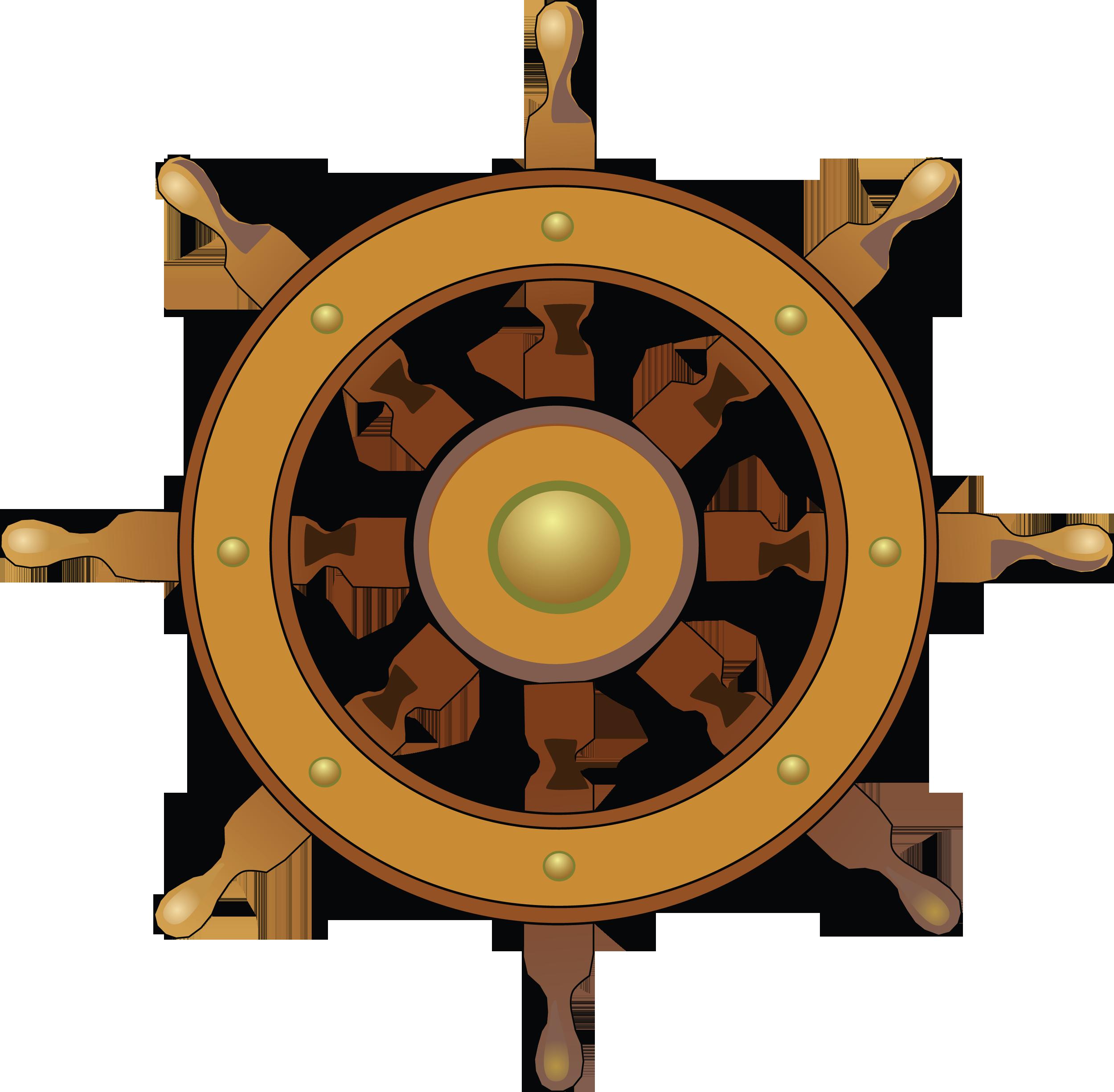 картинка морского руля