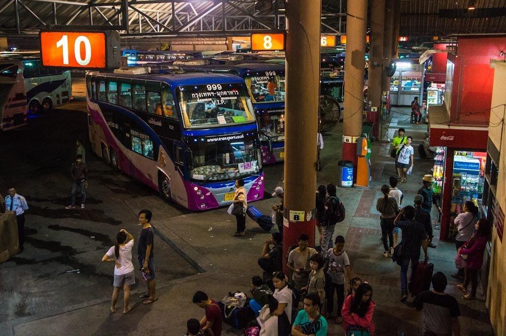 Автовокзал Бангкок Мочит