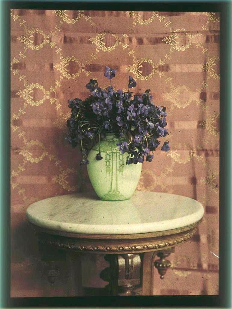Цветы в вазе. 1910-е..jpg