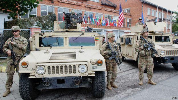 ВВильнюсе открылся штабной центр НАТО