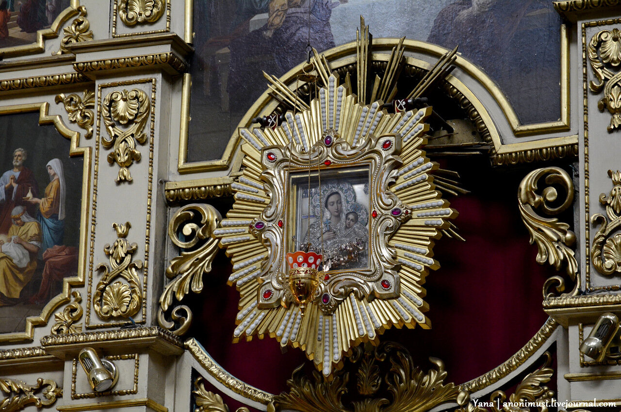 Храм Святителя Николая Чудотворца в Свято-Никольском мужском монастыре. Гомель
