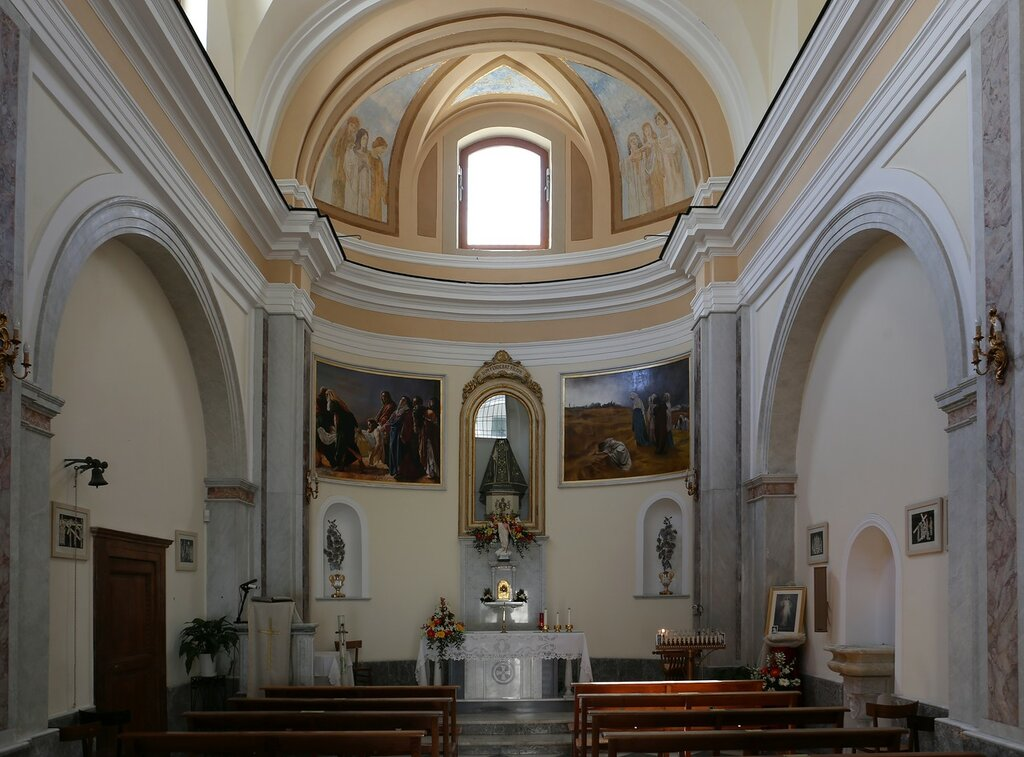 Церковь Святой Марии Аддолороата (Chiesa di Santa Maria Addolorata), Искья-Порто