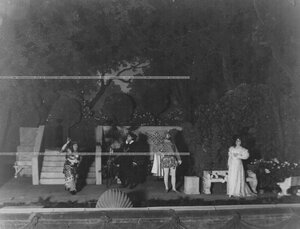 """Сцена из 1-го акта спектакля """"1569 год"""" по пьесе В.В. Борятинского."""