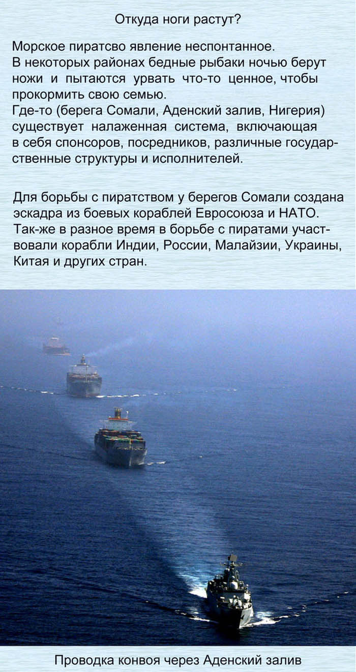 Морские пираты наших дней