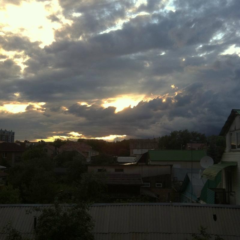 Уж небо осенью дышало
