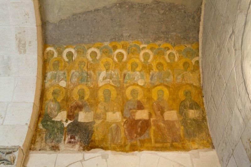 Святые, Дмитриевский собор, Владимир