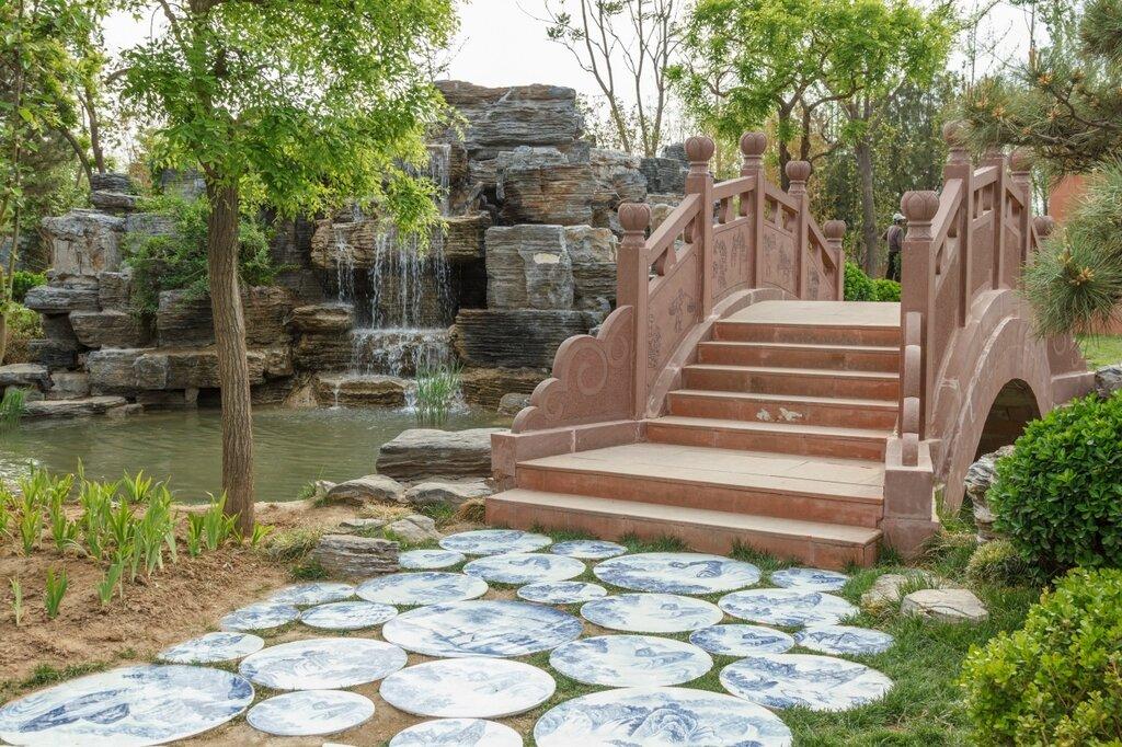 В саду Наньчан, Парк-выставка садов, Пекин