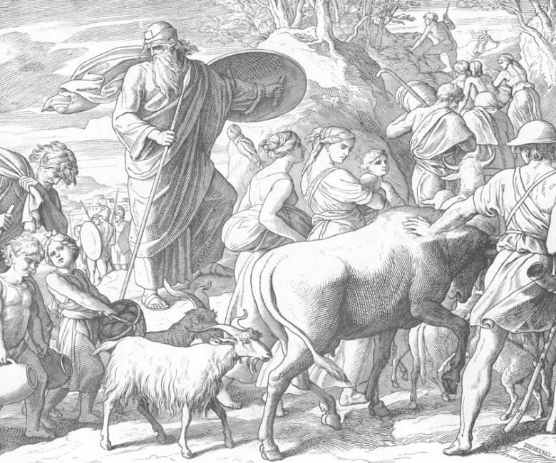 151 Бегство священника Маттафии и его родных.jpg