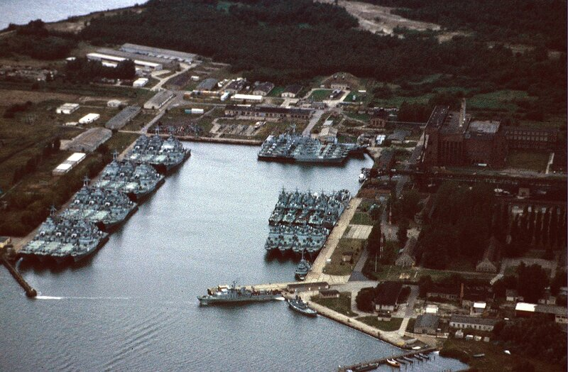 Der Hafen von Peenemьnde