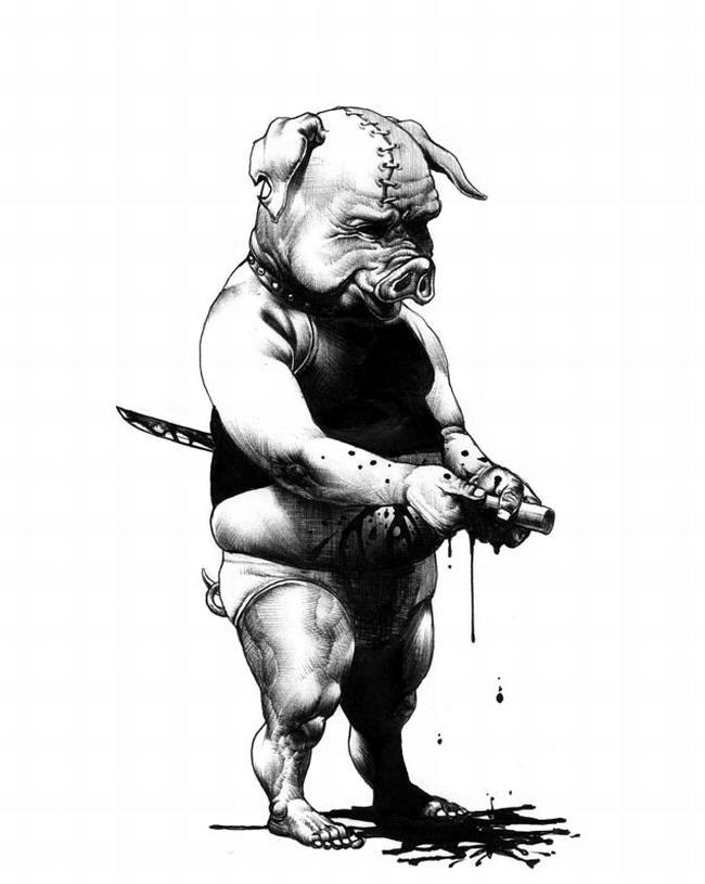 Сумасшедшие рисунки японского художника Shohei Otomo (5)