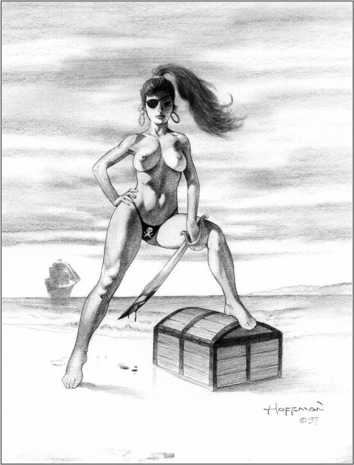 Графика: истории из жизни девушек - пираток (72)