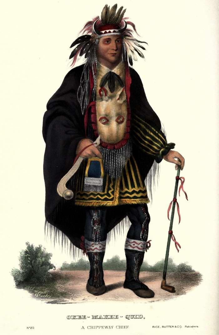 Вождь племени Chippeway