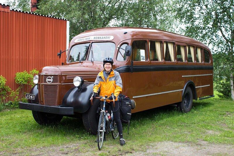 музейный автобус в Jarvilinna