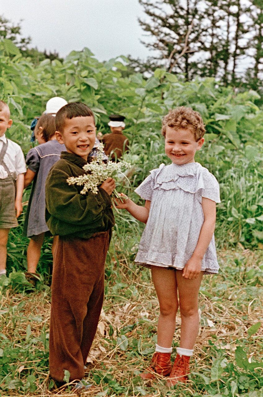 В детском лагере под Невельском