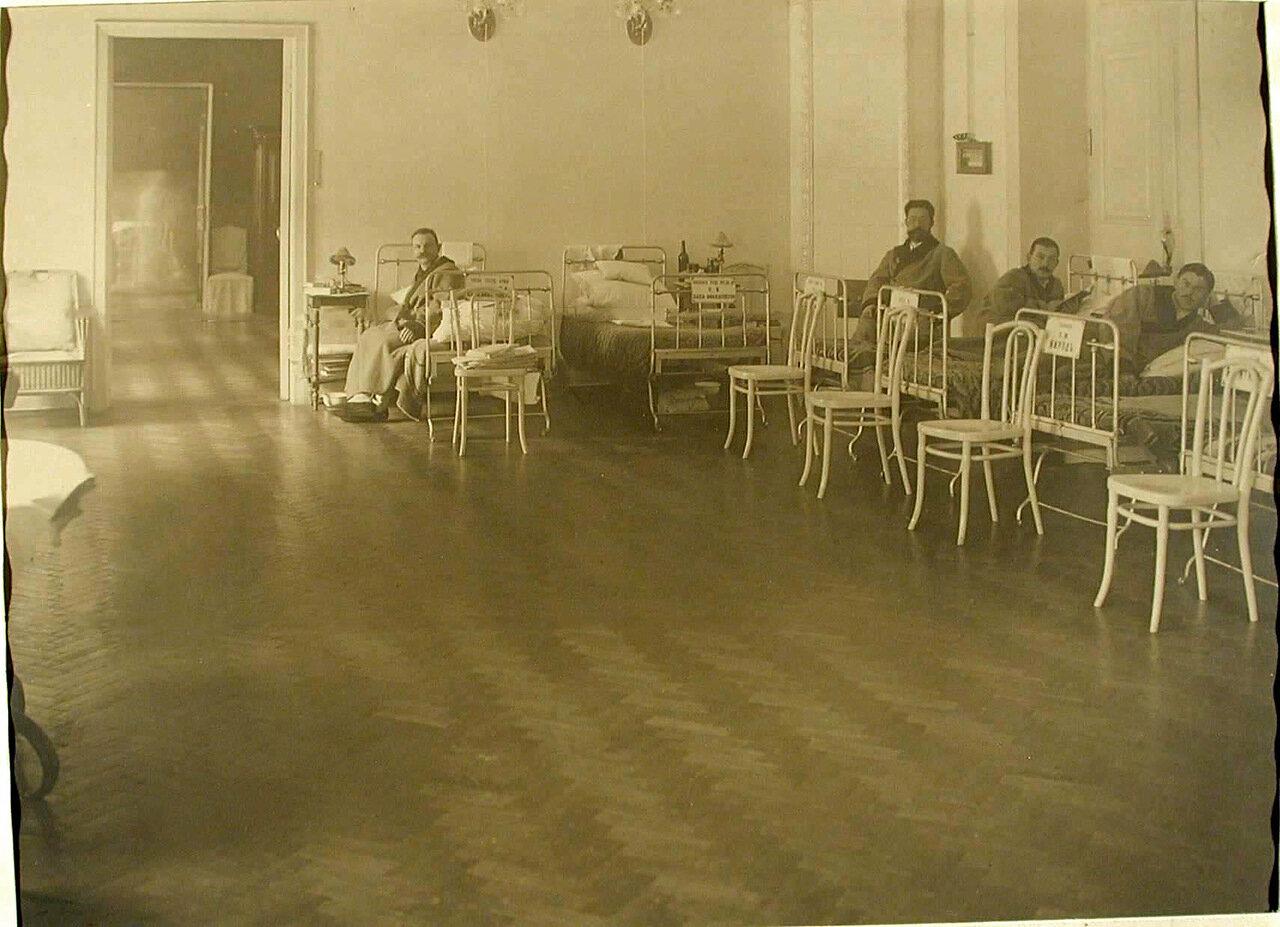 06. Раненые в офицерской палате лазарета