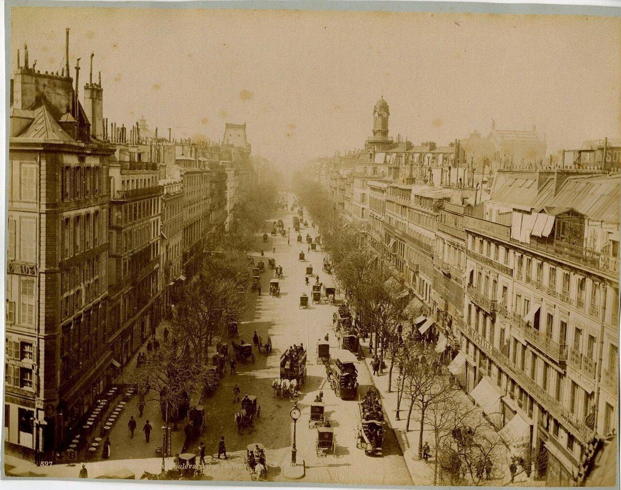 Итальянский бульвар. 1875.