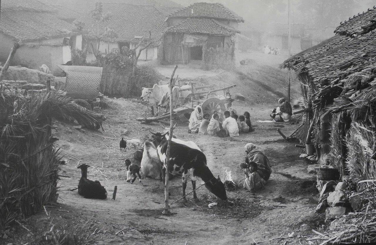 1964. Деревня в Индии