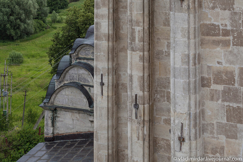 Вертикали четверика Храма Преображения