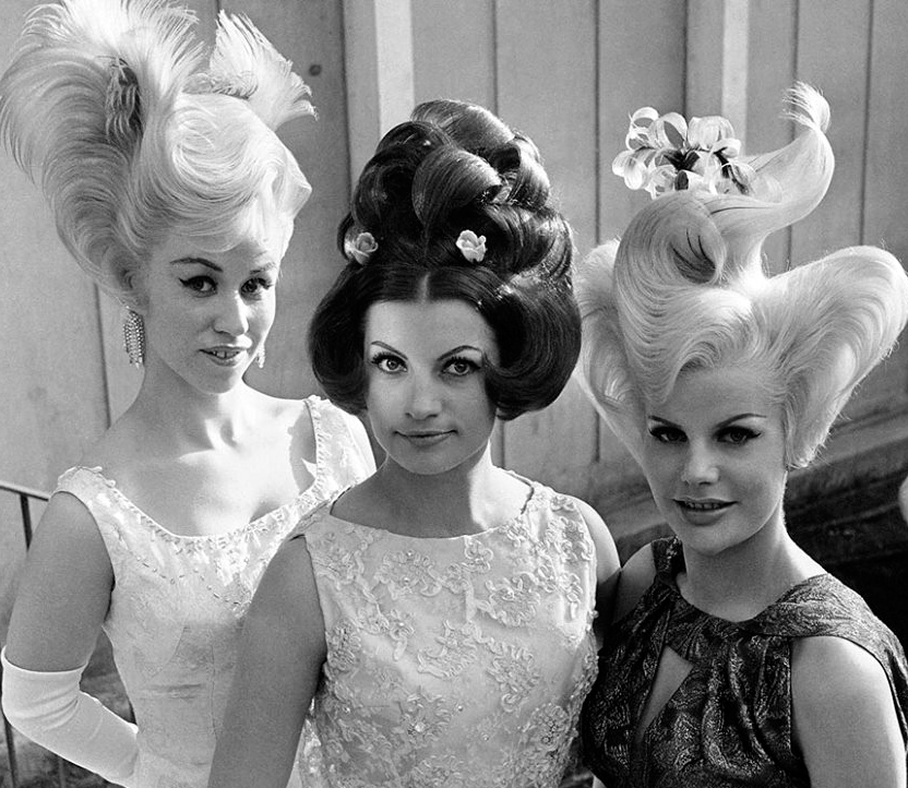 Top prize winners in a hairstyle contest, Munich, Germany, May 1, 1964.jpg