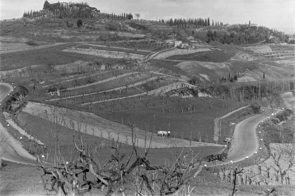 ITALY. Tuscany. San Gimignano. 1953. Henri Cartier-Bresson_Magnum Photos