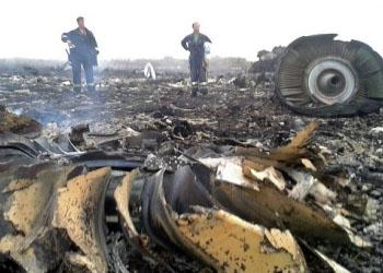 Над Донецкой областью сбит пассажирский авиалайнер Boeing-777