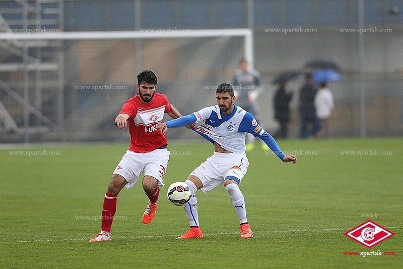 «Спартак» vs «Грассхоппер» 2:0 контрольный матч 2014 (Фото)