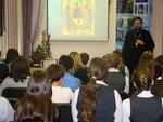 Встреча со школьниками в Центральной мытищинской городской библиотеке им. Дм. Кедрина
