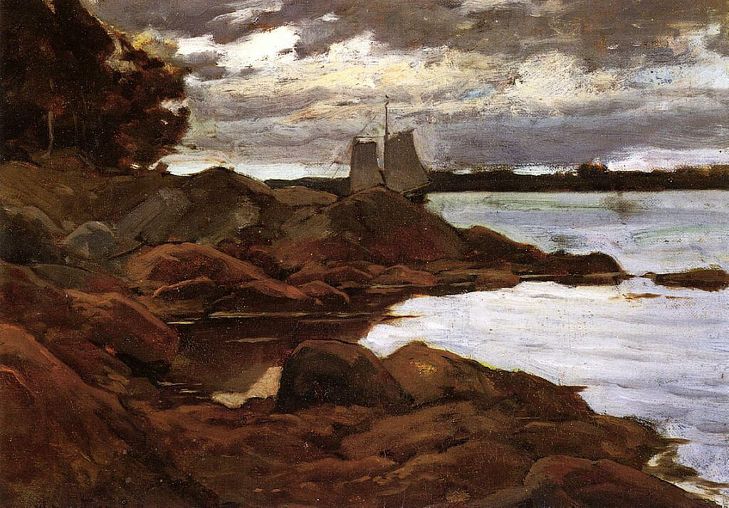 Close of Day on the Maine Shore, 1881.jpeg