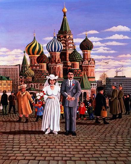 Лиз Райт. Московская свадьба, 1987