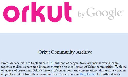 Google закрыл свою первую социальную сеть Orkut