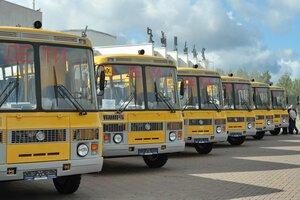 Удмуртия получила 50 новых школьных автобусов