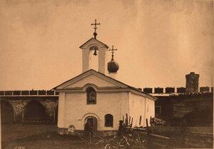 Вид на церковь Св. Андрея Стратилата в Кремле (к.XVII -н.XVIII в.) Новгород г.
