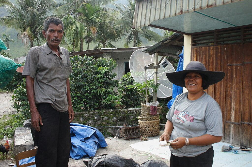 Фермеры в Индонезии