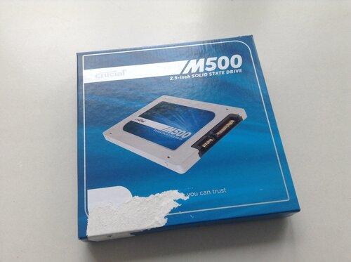 Покупка SSD Crucial M500 на Amazon