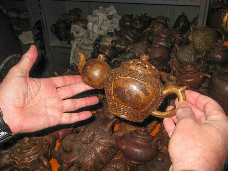 Двойной чайник, рынок Паньцзяюань, Пекин